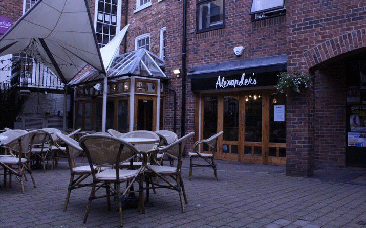 Alexander's outside - Chester