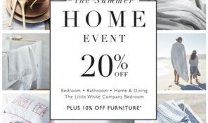 White company home event