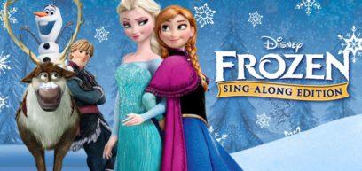 frozen sing a long