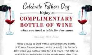 CAfe Rouge fathers day