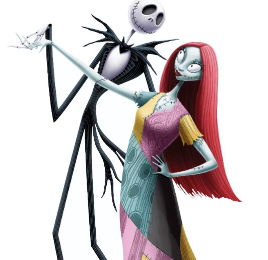 Jack and Sally Haloween