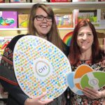 Katie from Weasel & The Bug (L) with Emily from CH1ChesterBID